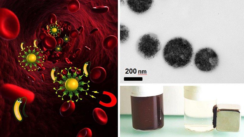 Ímãs substituem antibióticos contra infecções