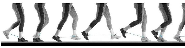 Para correr melhor, amarre um elástico entre seus tênis