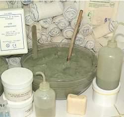 Argila é eficaz contra ferimentos e infecções