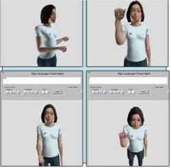 Programa traduz textos em linguagem de sinais