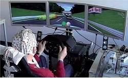 Ondas cerebrais ajudam motorista a frear carro em emergência